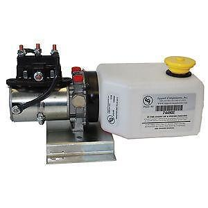 hydraulic power unit 12 volt hydraulic power unit