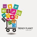 Trendy Planet LED CCTV Health Store