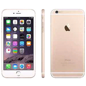 Gold iPhone 6 Plus