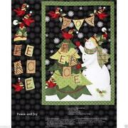 Christmas Fabric Panels