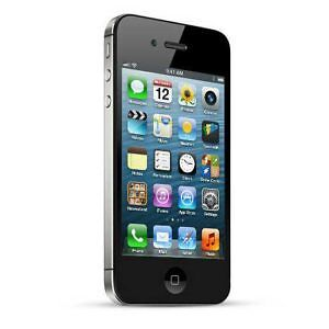 SELLING USED IPHONE 4S 16GB BLACK LOCKED TO BELL