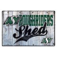 Saskatchewan Roughriders Shed Sign (New)