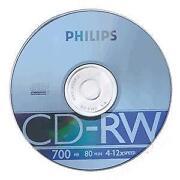 Blank CD RW