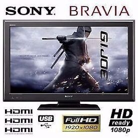 "Sony Bravia 40"" Full HD 1080p LED TV with Freeview HD + 4x HDMI + USB Port, not 32 37 39 42 43"