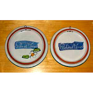 2 wall Hangings-Wall Plaques signed by Richard Munch ..like NEW Cambridge Kitchener Area image 4