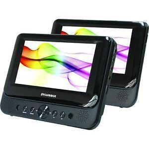car dvd player dual portable headrest overhead ebay. Black Bedroom Furniture Sets. Home Design Ideas