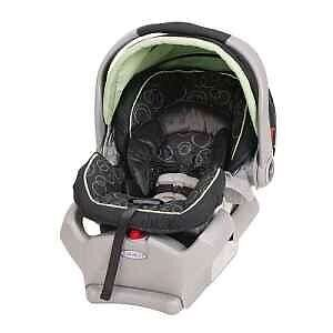 Coquille Graco + 2 bases! comme neuve