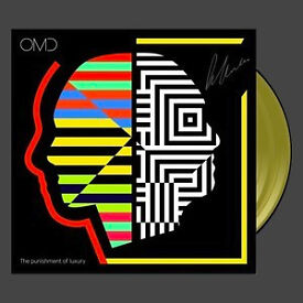 OMD The Punishment Of Luxury Signed LP Yellow Vinyl Pre Order 400 LTD Edition