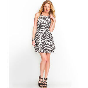 Robe Guess dress size 4 zebre / zebra