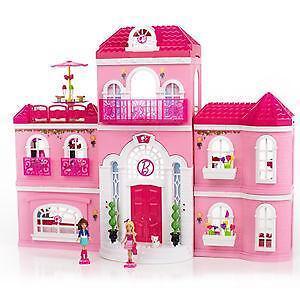 barbie haus neu ebay. Black Bedroom Furniture Sets. Home Design Ideas