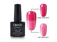 10ml Thermal Colour Changing Uv Nail Polish(red/pink cheese)