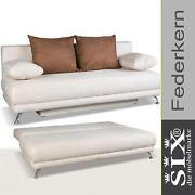 schlafsofa federkern schlafsofas ebay. Black Bedroom Furniture Sets. Home Design Ideas