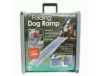 Dog ramp for steps or car
