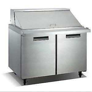 "48"" Mega Top Sandwich Prep Table - Brand new"