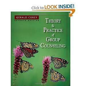 Theory and Practice of Group Counselling