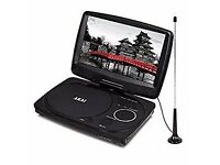 Akai A51003 10-Inch Portable DVD Player with Digital TV Tuner - Black by Akai