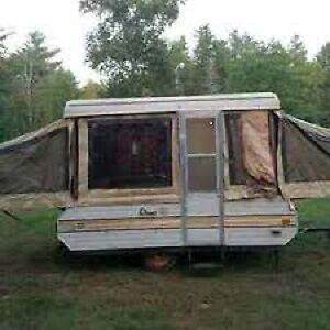 Hard-top tent trailer or similar!