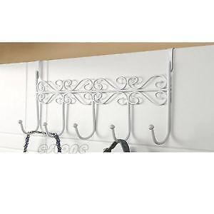 Over door hooks storage solutions ebay for 12 hook over the door coat rack