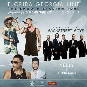 FLORIDA GEORGIA LINE with Nelly, Chris Lane and  Backstreet Boys