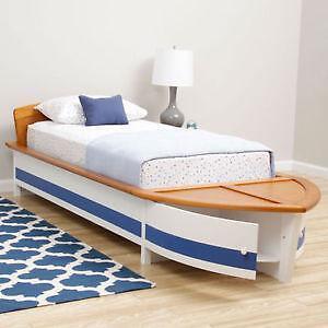 Kids Boat Bed Ebay