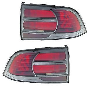 Acura TL Type S Taillights. Driver and passenger sides.
