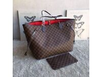 Louis Vuitton ebene design medium neverfull