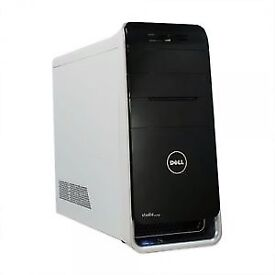 Gaming pc Dell XPS studio 8100 i7 2.93GHZ 8GB RAM 60GB SSD +2 TB HARD DRIVE HDMI I