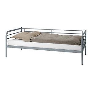 Ikea Modern Stainless Steel Single Bed