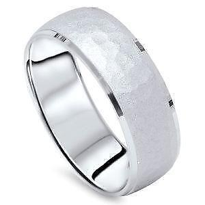 mens platinum wedding band 7mm - Mens Platinum Wedding Ring