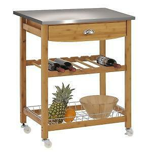 stainless steel cart  ebay, Kitchen design