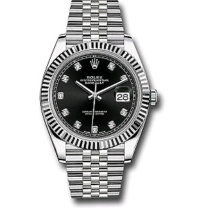 Rolex Oyster Perpetual Datejust 126334 Sainles Steel Me Watch