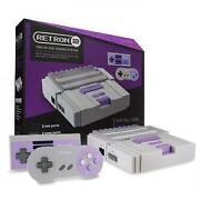 Super Nintendo Game System
