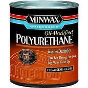 Water Based Polyurethane
