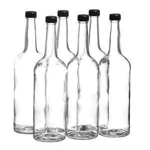 glasflaschen 200ml feinschmecker ebay. Black Bedroom Furniture Sets. Home Design Ideas