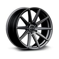 19X8.5 19X9.5 RTX MIDNIGHT WHEELS @ TIRE DISTRICT 5x114.3
