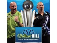 PDC World Darts Championship Tickets - December 2017 - 2 Dates Available