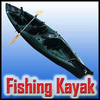 Try A Whole New Kind Of Fishing!! WINNER Leisure Fishing Kayak!