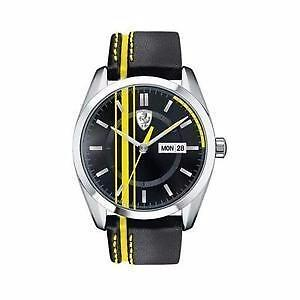 FERRARI Men's D-50 Watch w/ Day-Date, 830234