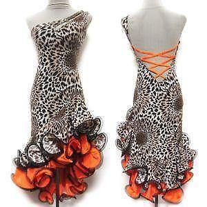5169c844b4330 Latin Salsa Tango Ballroom Dance Dress