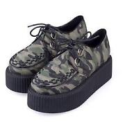 Green Creepers Shoes