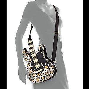 Guitar Bag/Purse, designer Betsey Johnson