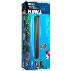 """Fluval 24"""" quad t5ho (never used, price reduced)"""