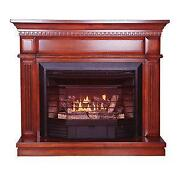 Ventless Natural Gas Fireplace