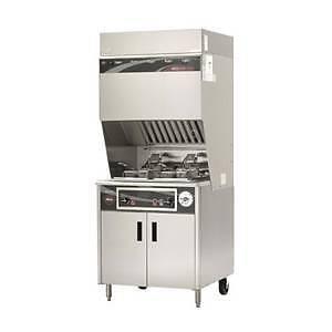 Wells – Deep Fryer w/ Vent less Exhaust System & Cabinet Base