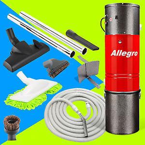 Central Vacuum Unit 30' Lightweight Hose & Attachments $399.99