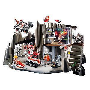 Playmobil Secret Agent Headquarters with Alarm System Windsor Region Ontario image 1