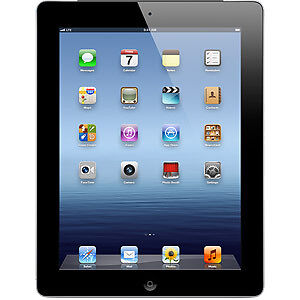 NEW Apple iPad 3rd Gen 16GB, Wi-Fi + 4G (AT&T), with Retina Display - Black