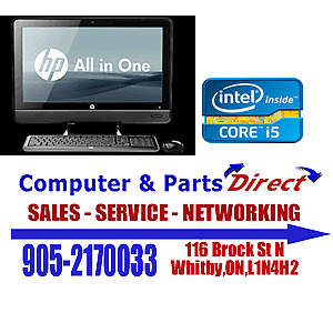"""HP ELITE 8200 23"""" INTEL I5  ALL IN ONE PC- 500GB$100 OFF"""
