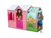 Pink Little Tikes playhouse