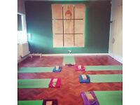 Sunday 7-8pm yin yoga class at Flow Yoga